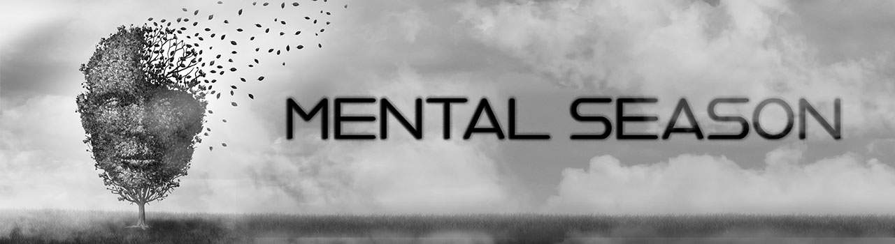 Mental Season Albumcover Header Still mit Logo
