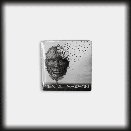 Ansteck-Pin Mental Season